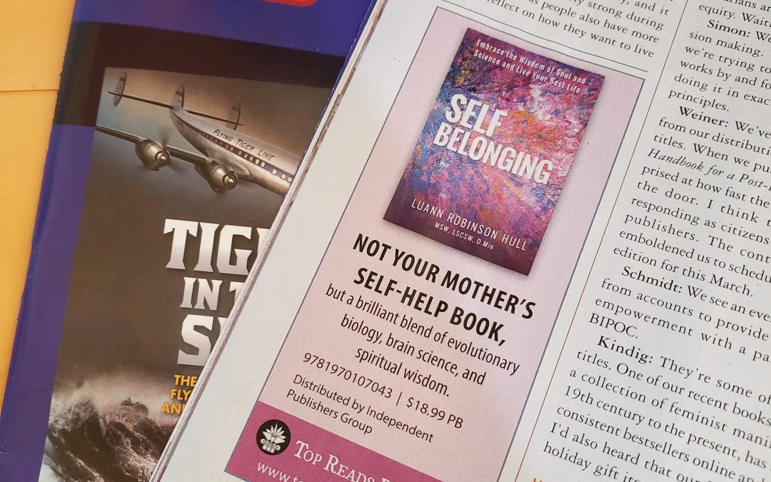 Publishers Weekly ad - Self Belonging